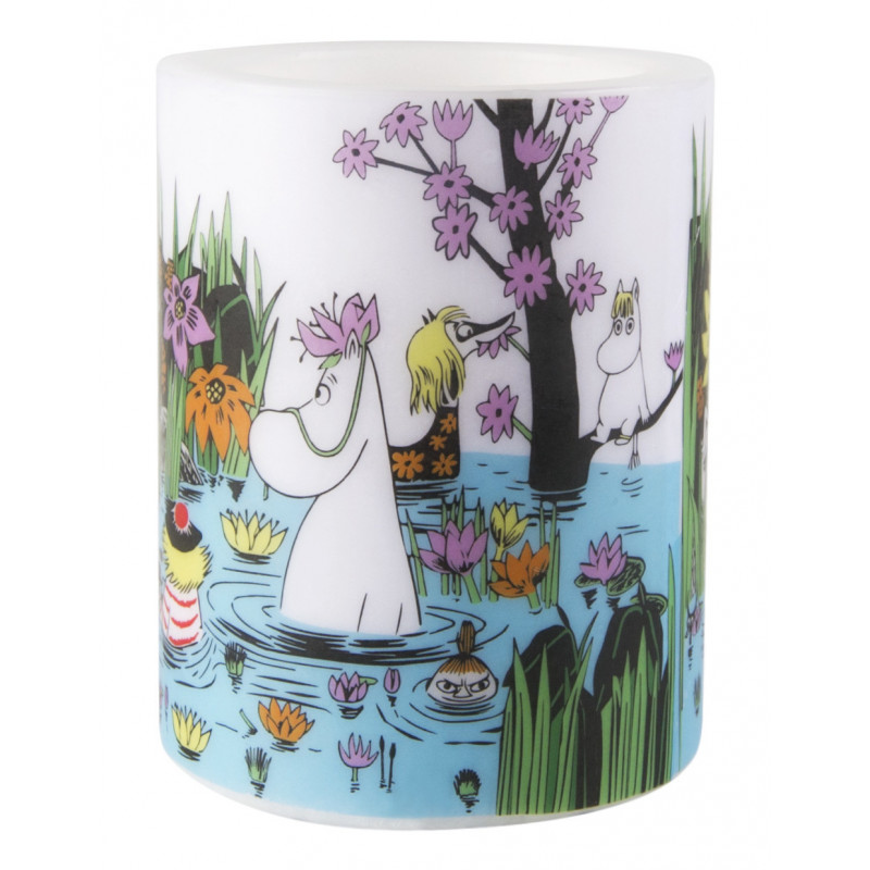 Moomin Candle Trip To The Pond 12 cm
