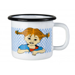 Pippi Enamel Mug 0.15 L Here Comes Pippi