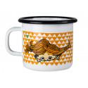 Pippi Enamel Mug 0.25 L Here Comes Pippi