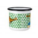Pippi Enamel Mug 0.37 L Here Comes Pippi