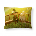 Moomin Animation Spring in Moominvalley Sateen Pillowcase 50 x 60 cm