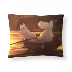 Moomin Animation Fall in Moominvalley Sateen Pillowcase 50 x 60 cm