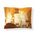 Moomin Animation Summer in Moominvalley Sateen Pillowcase 50 x 60 cm