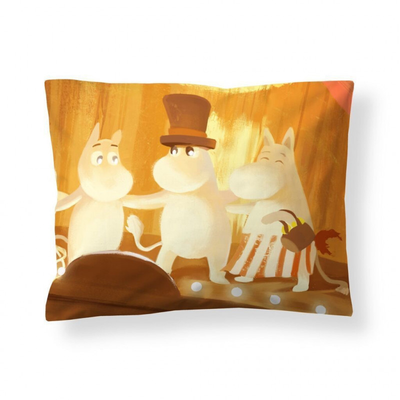 Moomin Animation Summer in Moominvalley Sateen Pillowcase 50 x 60 cm