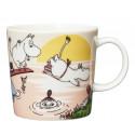 Moomin Seasonal Mug Summer 2019 Evening Swim