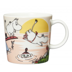 Moomin Seasonal Mug Summer 2019 Evening Swim