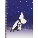 Moomin Spiral Notebook Moomintroll 170 Pages
