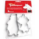 Moomin Metal Cookie Cutters Set of 2