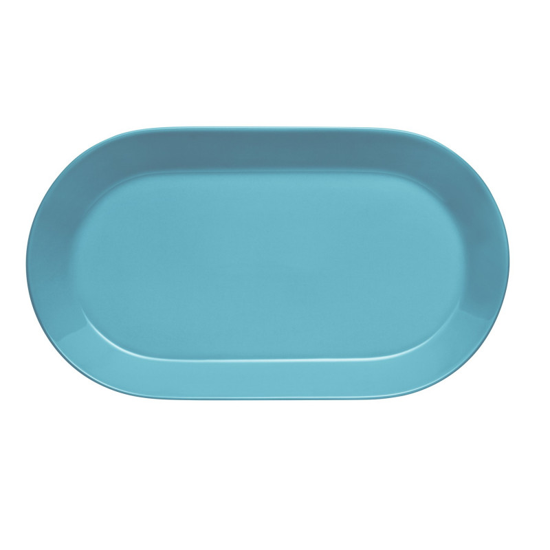 Iittala Teema Tiimi Oval Fish Plate 20 x 35 cm Turquoise
