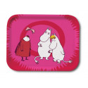 Moomin Birch Tray Invisible Child Pink 27 x 20 cm