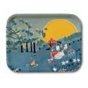 Moomin Birch Tray Sunset Party Bonnier 27 x 20 cm