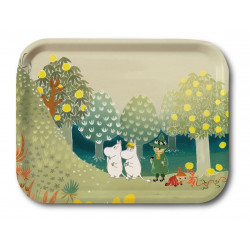 Moomin Birch Tray Valley Hill Bonnier 27 x 20 cm