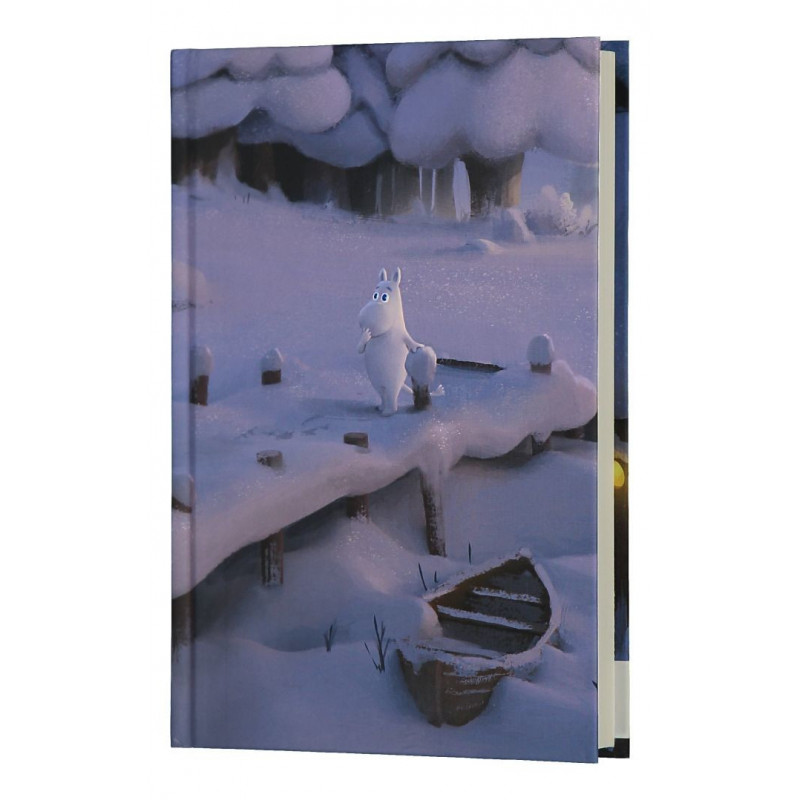 Moomin Hardcover Notebook Moominvalley Winter 13,5 x 19,5 cm