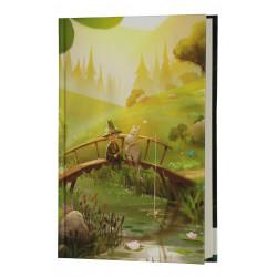 Moomin Hardcover Notebook Moominvalley Bridge 13,5 x 19,5 cm