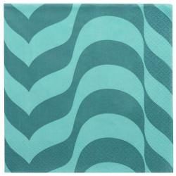 Aalto Paper Napkins Sea Blue 33 x 33 cm