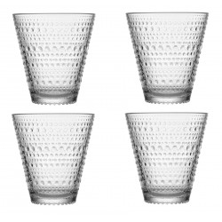 Kastehelmi Tumblers Set of 4 Clear Iittala