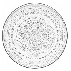 Kastehelmi Glass Serving Plate 315 mm Iittala