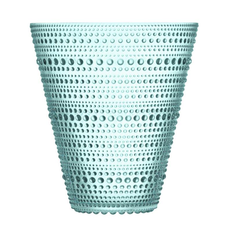 Iittala Kastehelmi Oiva Toikka Vase Water Green 15.4 cm