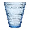 Iittala Kastehelmi Oiva Toikka Vase Aqua Blue 15.4 cm