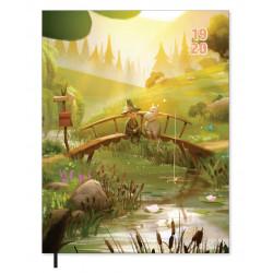 Moomin School Calendar Weekly Planner 2019-2020 Moominvalley