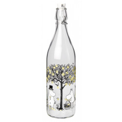 Moomin Glass Bottle with...