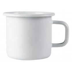 Enamel Mug Basic Pure White 0.37 L Muurla