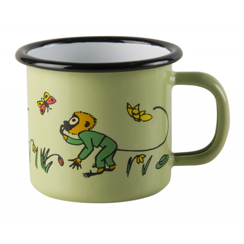 Enamel Mug Mr. Nilsson 0.15 L Muurla