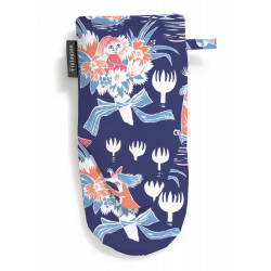 Moomin Oven Mitt Magic Moomin Dark Blue 15 x 30 cm