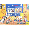 Moomin Puzzle Set of 2 Shell 20 pcs Party 40 pcs 30 x 21 cm
