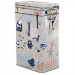 Moomin Forest in the Woods Coffee Tin Box
