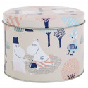Moomin Forest in the Woods Round Tin Box