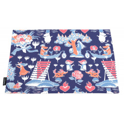 Moomin Table Mat Magic Moomin Dark Blue 2 pcs 46 x 35 cm