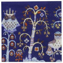 Paper Napkins Taika Blue 33 x 33 cm