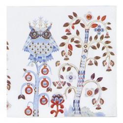 Paper Napkins Taika White 33 x 33 cm
