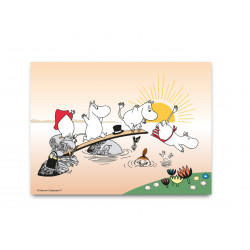Moomin Placemat 40 x 27 cm Evening Swim
