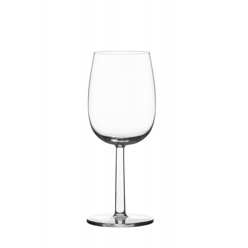 Raami White Wine Glass 0.28 L 2 pcs Iittala