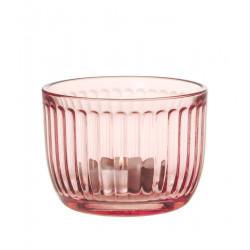 Raami Tealight Candle Holder 9 cm Salmon Pink Iittala