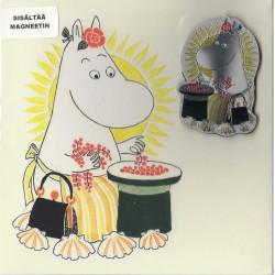Moomin Greeting Card Moominmamma with Aluminium Magnet