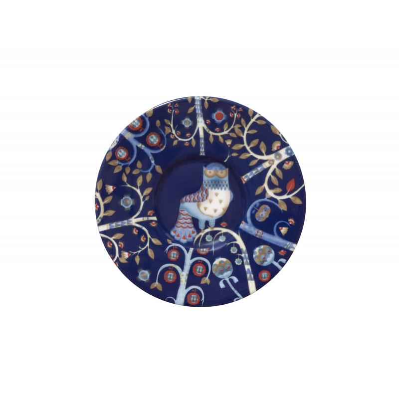 Taika Blue Espresso Saucer 11 cm Iittala
