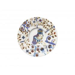 Taika White Espresso Saucer 11 cm Iittala