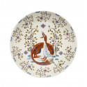 Taika White Deco Deep Plate 22 cm Iittala