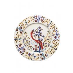 Taika White Plate 22 cm Iittala