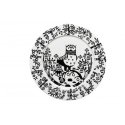 Taika Black Plate 30 cm...
