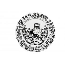 Taika Black Plate 30 cm Iittala