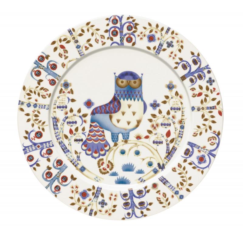 Taika White Plate 30 cm Iittala