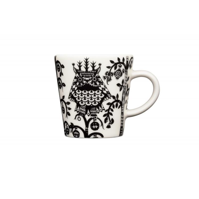 Taika Black Espresso Cup 0.1 L Iittala