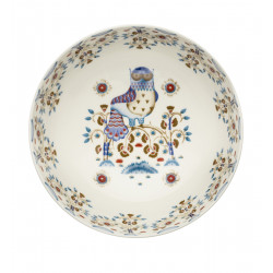 Taika White Deco Bowl 1.45...