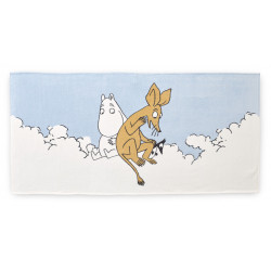 Moomin Bath Towel Clouds...