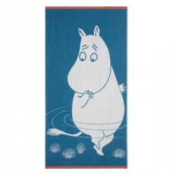 Moomin Bath Towel Turquoise Moomintroll 70 x 140 cm Finlayson