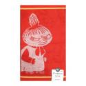 Moomin Hand Towel Littlee My Red 30 x 50 cm Finlayson